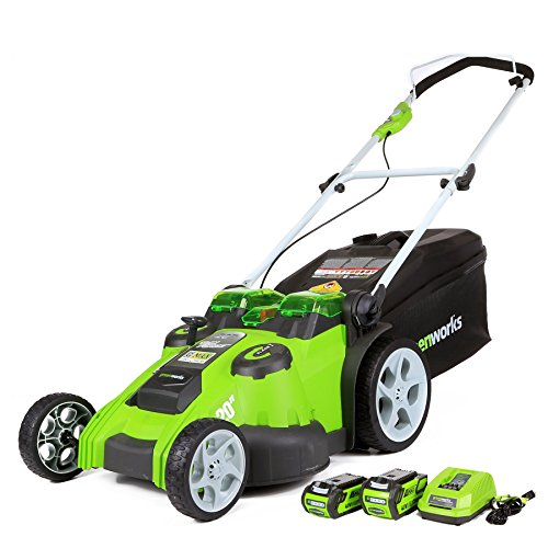 Top 5 Best Self Propelled Lawn Mower Reviews -Greenworks 20 inch 40V Twin Force Cordless Lawn Mower Review