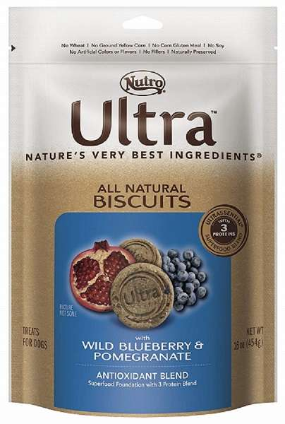 20 Best Dog Food for Sensitive Stomach and Diarrhea in 2019 - Nutro Ultra Dog Biscuits