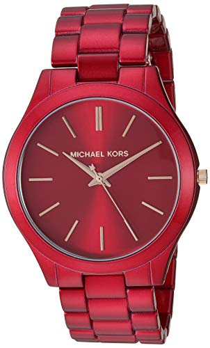 Top 13 Cheap Women's Watches That Look Expensive - Michael Kors Slim Runway Women's Stainless Steel Watch - 42MM
