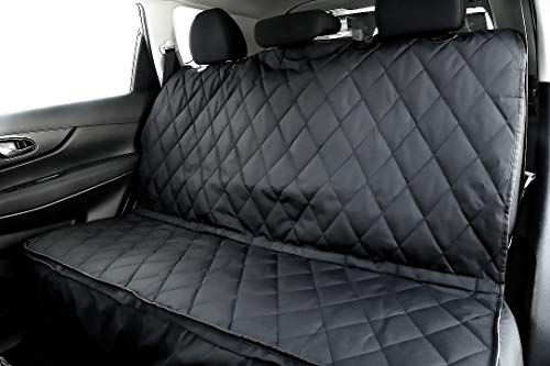 10 Best Dog Seat Covers for Leather Seats 2019 - Plush Paws Products Pet Seat Cover with Removable Hammock