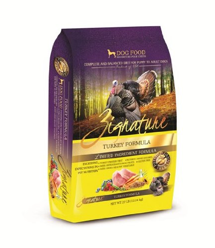20 Best Dog Food for Sensitive Stomach and Diarrhea in 2019 - Zignature Turkey Limited-Dry Dog Food
