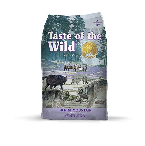 20 Best Dog Food for Sensitive Stomach and Diarrhea in 2019 - Taste of the Wild- Siera Mountain Grain Free Dry Dog Food