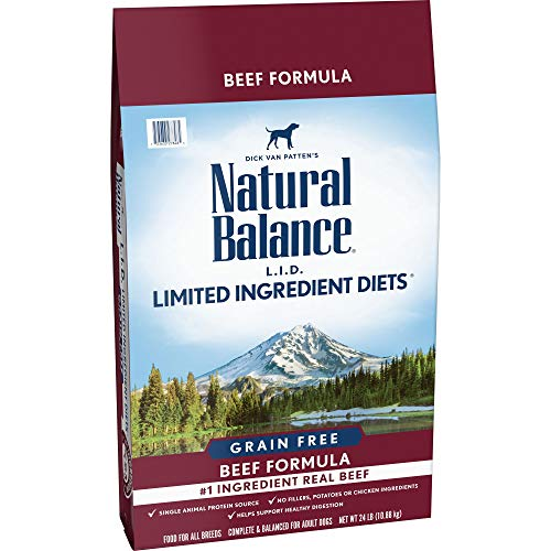 20 Best Dog Food for Sensitive Stomach and Diarrhea in 2019 - Natural Balanced L.I.D Beef Formula Dog Food