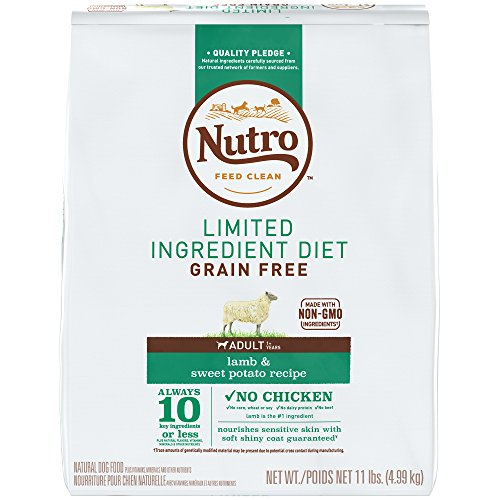 20 Best Dog Food for Sensitive Stomach and Diarrhea in 2019 - Nutro Limited Ingredient Grain-Free Dog Food
