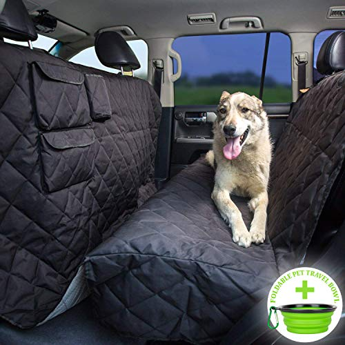 10 Best Dog Seat Covers for Leather Seats 2019 - Tapiona XL Dog Seat Cover