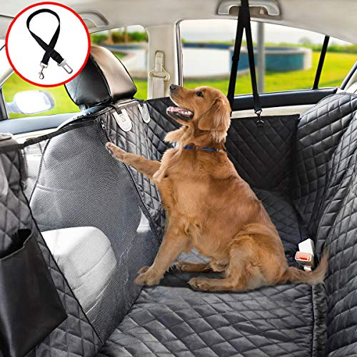 10 Best Dog Seat Covers for Leather Seats 2019 - Vailge Dog Seat Cover for Back Seat
