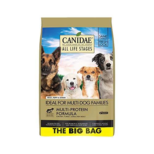 20 Best Dog Food for Sensitive Stomach and Diarrhea in 2019 - Canidae All Life Stages-Dry Dog Food