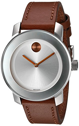 10 Best Women's Watches Under 500 In 2019 - Movado Women's Swiss Quartz Stainless Steel and Leather Watch