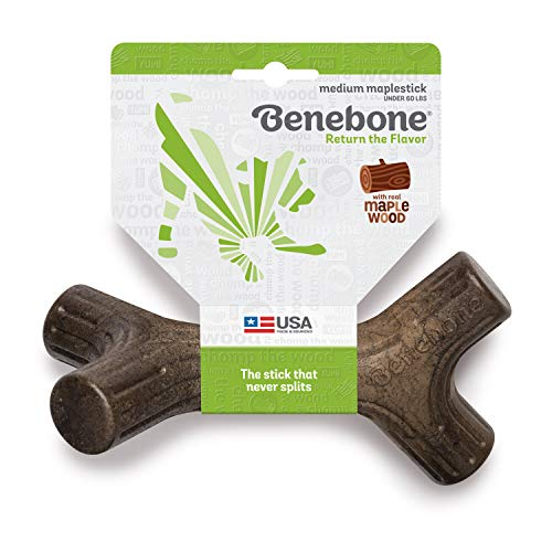 5 Best Chew Bones For Dogs In 2019 - Benebone Maplestick Durable Dog Stick Chew