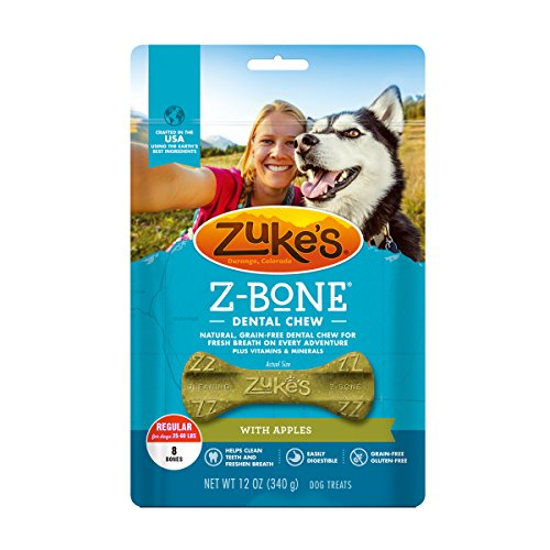 5 Best Chew Bones For Dogs In 2019 - Zuke's Z-Bone Dental Chew Dog Treats